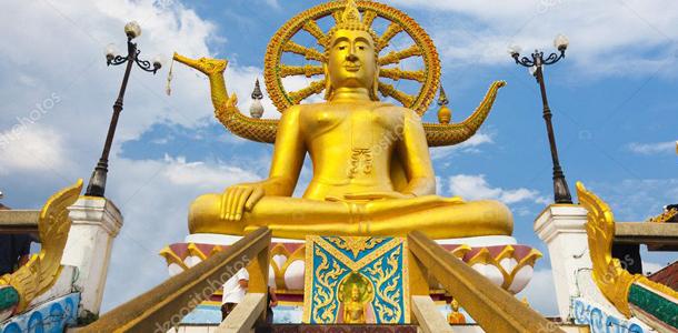 Koh Samui Big Buddha Heykeli
